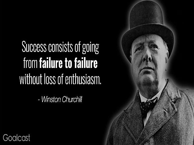Citas de Winston Churchill en inglés y español