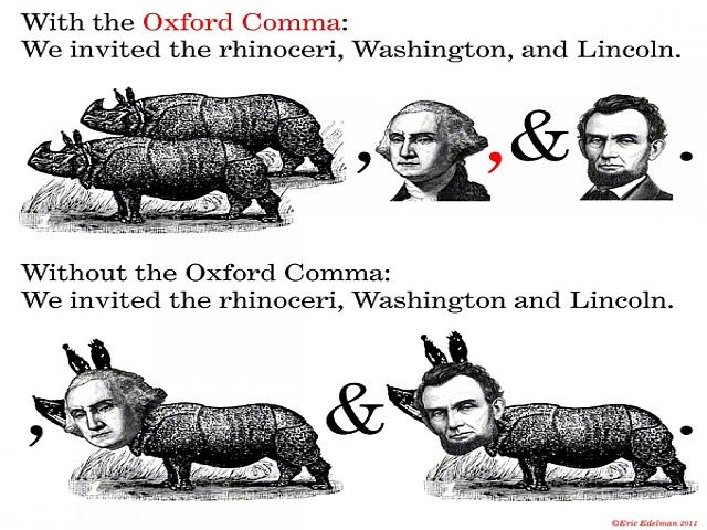 Oxford Comma: Co to jest i czy warto? interpunkcja, przecinek