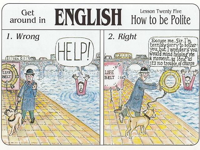 prośby po angielsku polite requests, uprzejmość