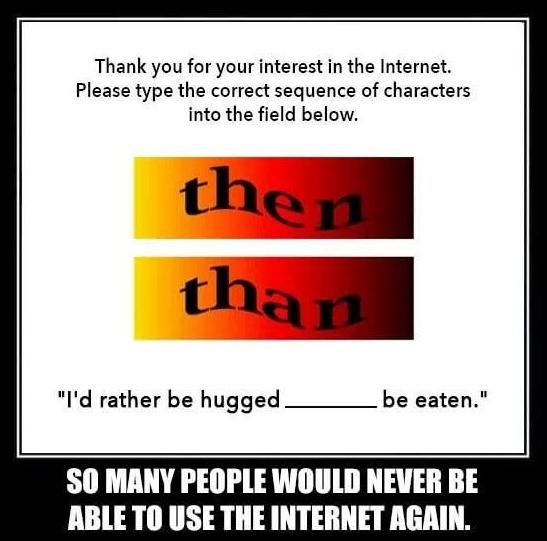 memy na róznicę z than ithen czy nauka angielskiego online gramatyka
